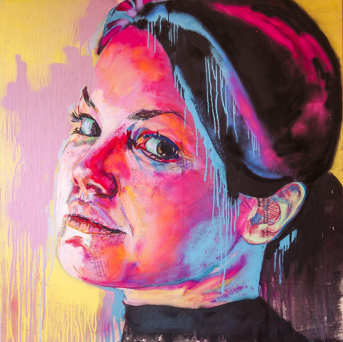 Untitled 4 t cnica mixta pintura acr lica pintura - Pintura para madera ...