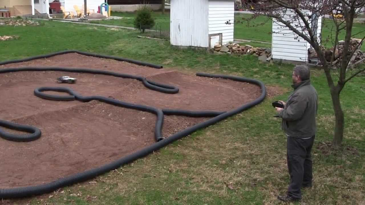 how to make a backyard rc car track tips and techniques stuff