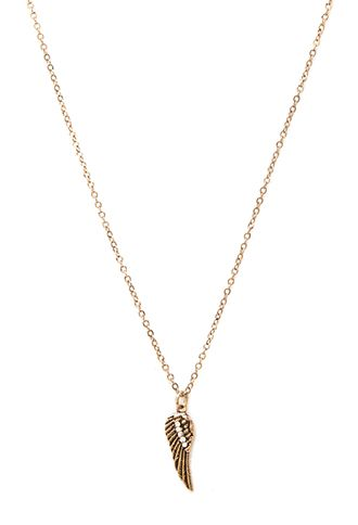 Burnished Wing Charm Necklace | Forever 21 - 1000101636