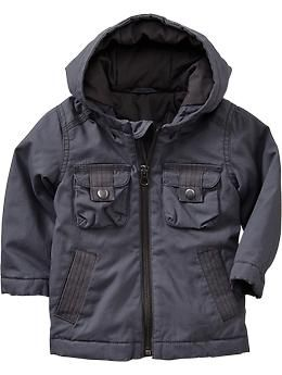 Hooded Military Jackets for Baby | Old Navy