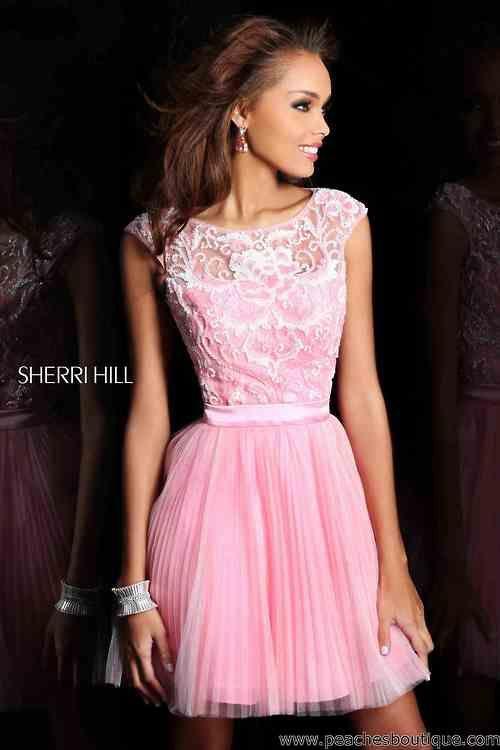 Sherri Hill Short Dress 21167 At Peaches Boutique Wedding