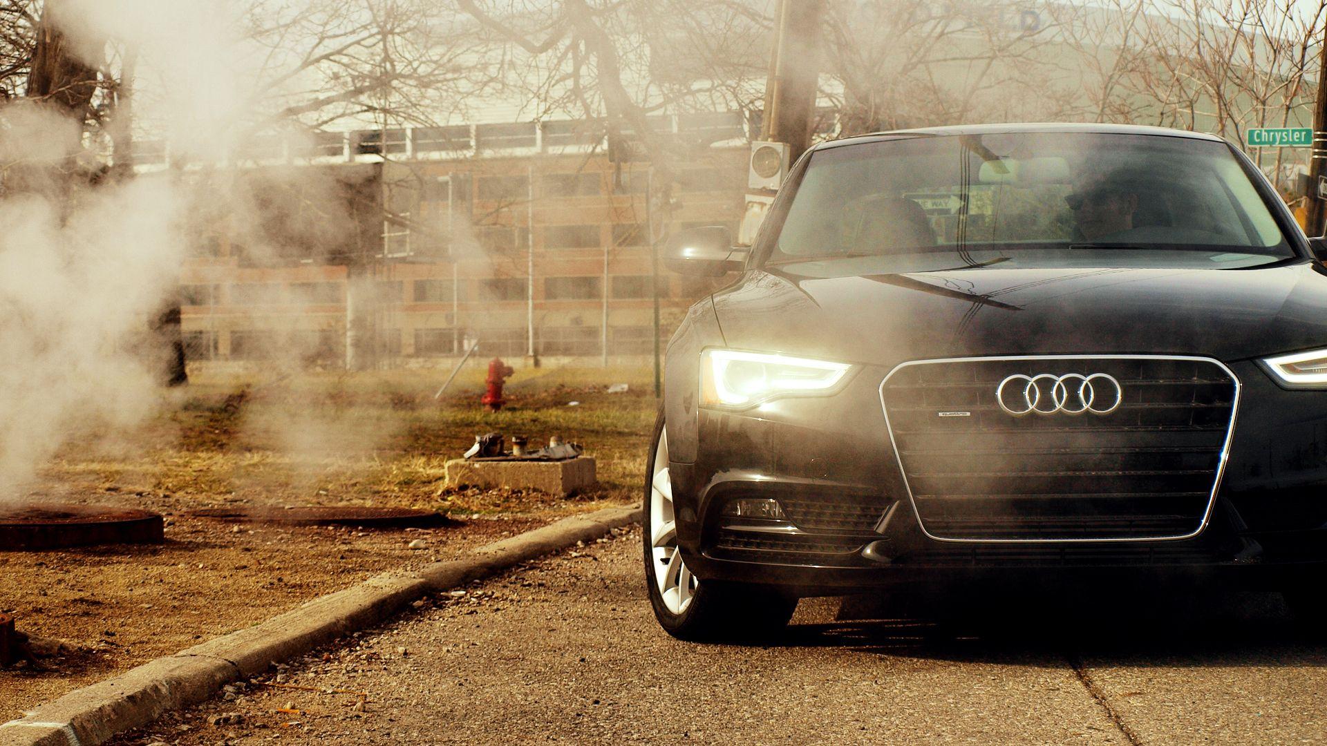 Audi A5. Detroit. Steam. #audi