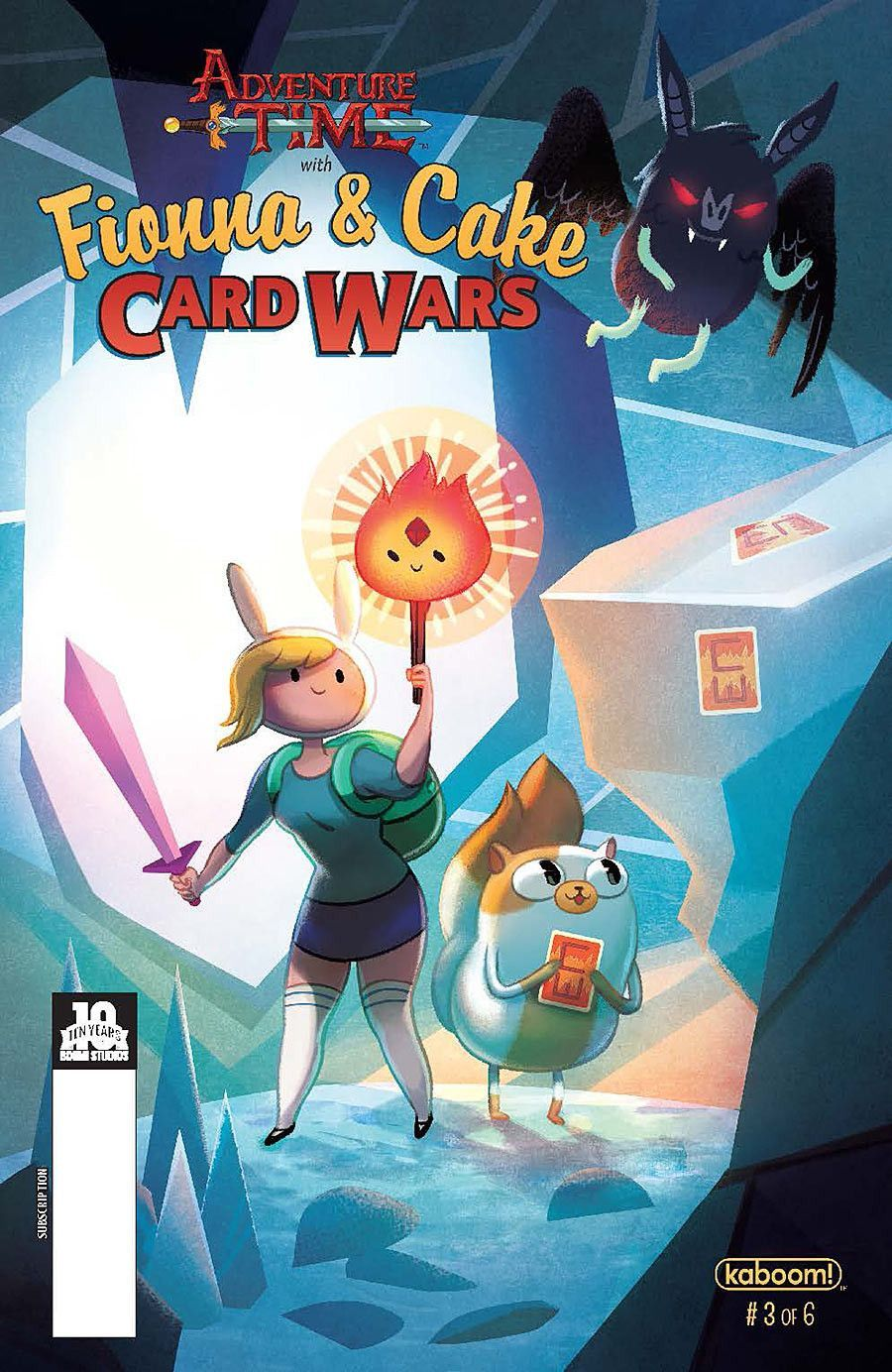 Adventure Time Fionna Amp Cake Cards Wars 2015 Issue 3