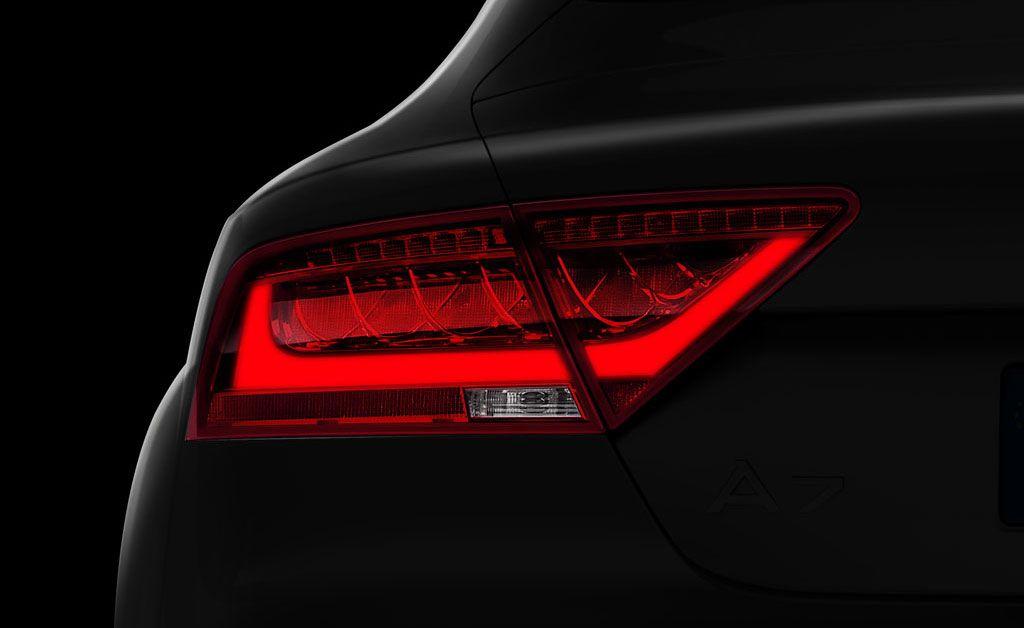 Audi A7 Tail Light Daytime Light Audi A7 Tail Light Audi