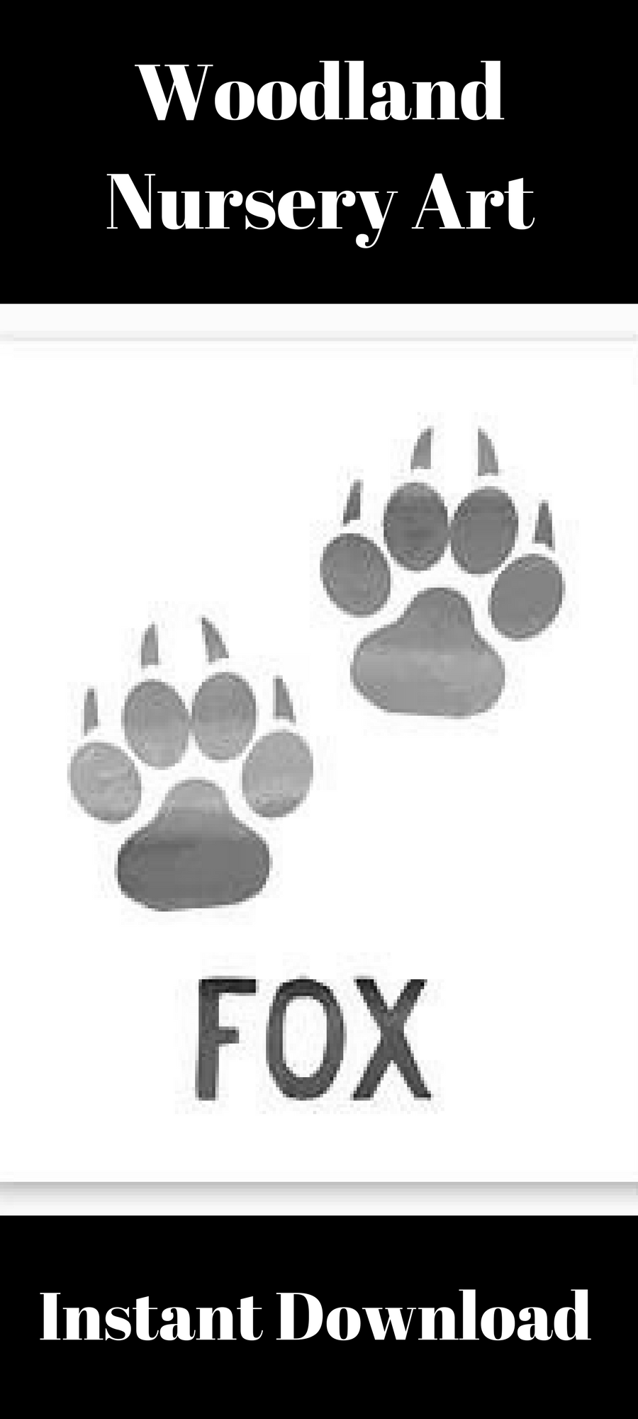 Woodland Nursery Printable Fox Nursery Decor Fox Tracks Fox Paw Prints Fox Wall Art Rustic Nursery Art I Nursery Artwork Woodland Nursery Fox Nursery Art The best selection of royalty free fox paw prints vector art, graphics and stock illustrations. pinterest