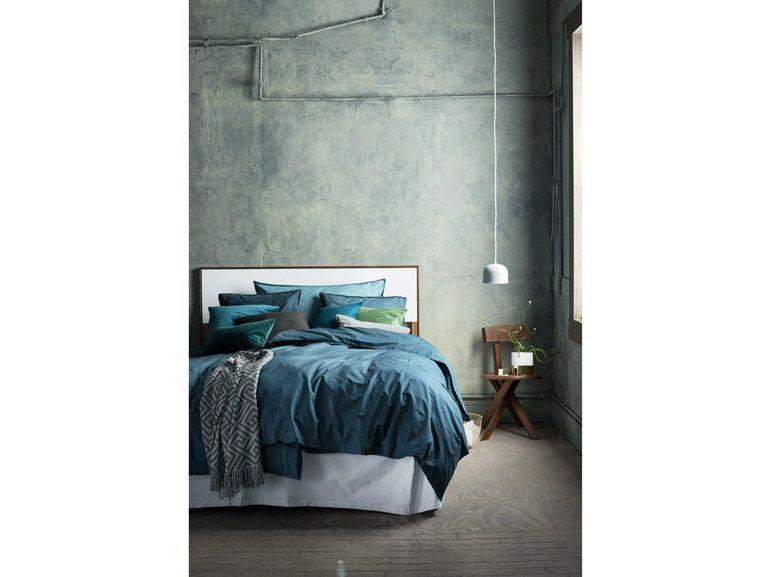 Camere Da Letto Verde Tiffany : Verde acqua nella camera da letto di h m home fraschi nel