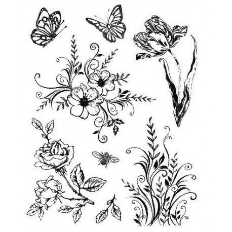 Flores y mariposas | Tatto | Pinterest | Buscador, Catálogo y Mariposas