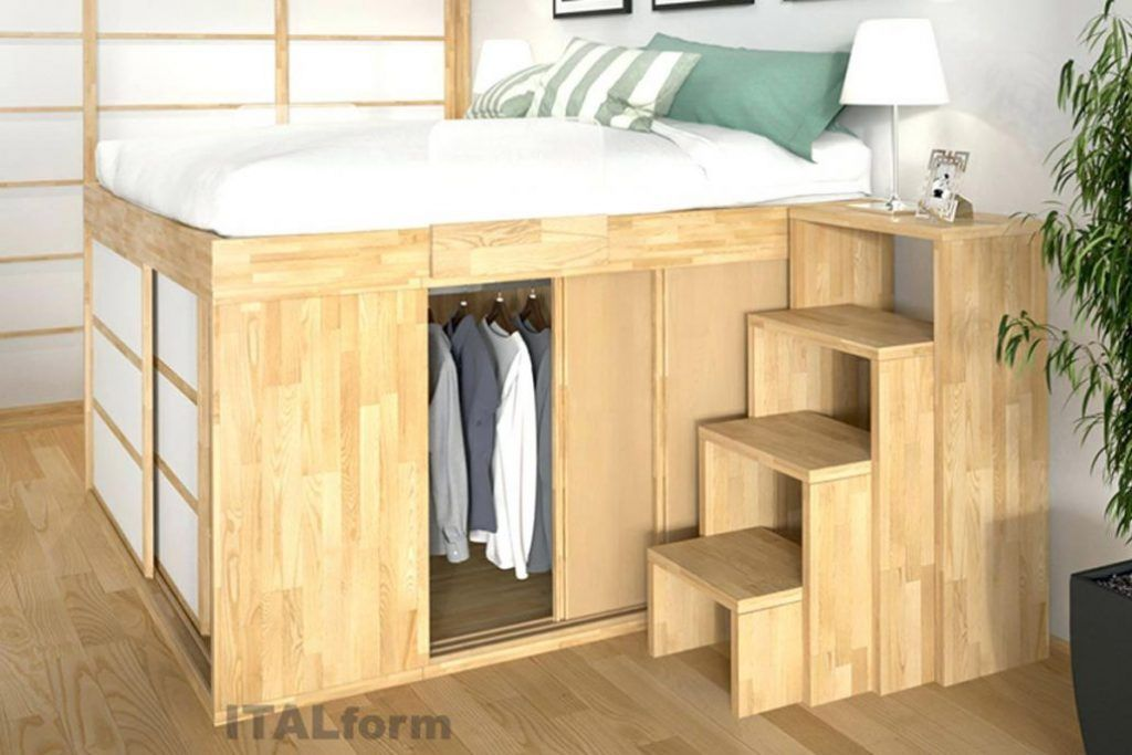 Platzsparende Möbel Ikea mobel platzsparende   Hochbett ...