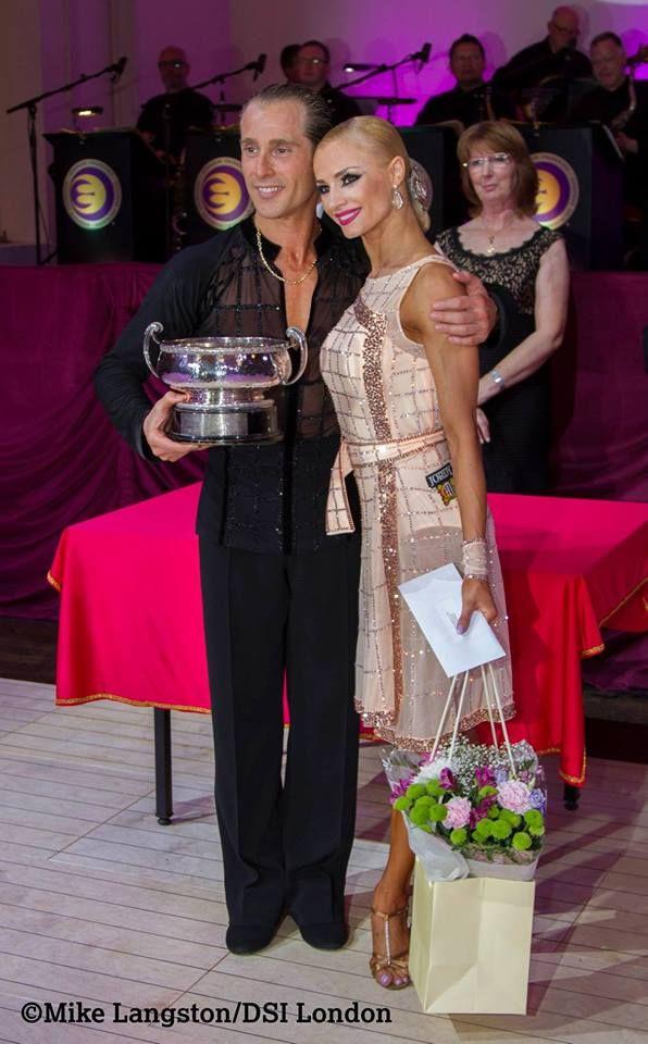 Blackpool Dance Festival 2016 - Professional Latin Winners Riccardo Cocchi & Yulia Zagoruychenko USA