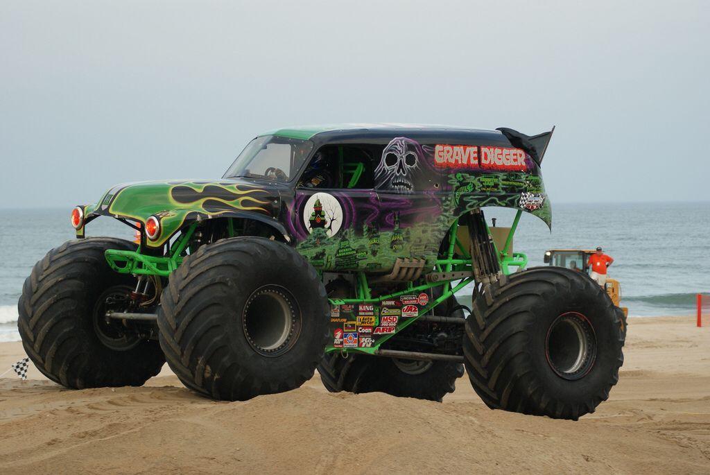Grave Digger, Virginia Beach Monster Truck Rally