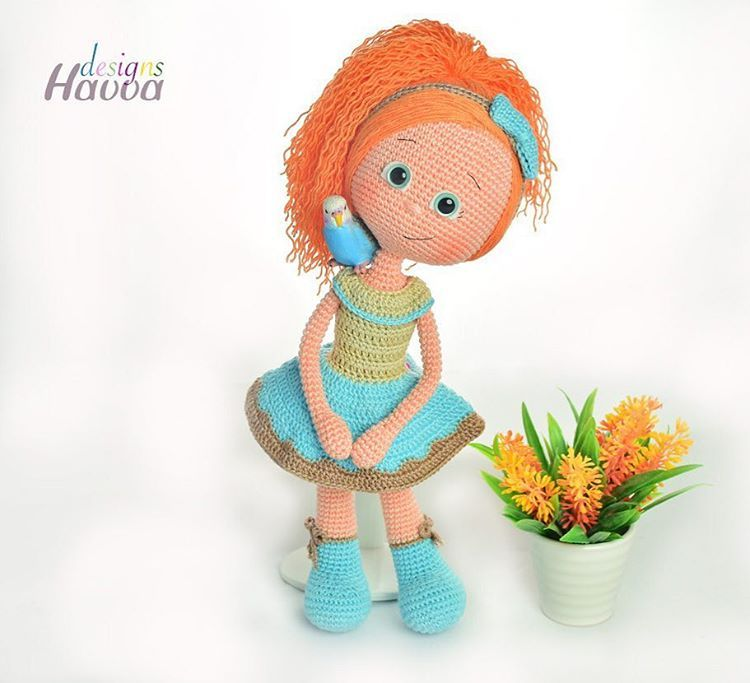Alyadoll Alya Doll Amigurumi Amigurumidolls Crochetdoll