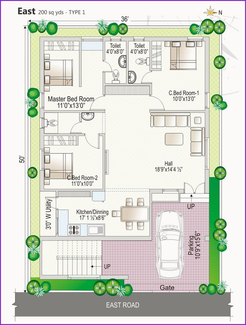 Awesome Vastu For East Facing House Indian House Plans West Facing House My House Plans