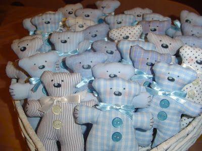 COCCINELLEPAZZE Handmade: STILL FAVORS - TILDA BEARS FOR BAPTISM - ready LAST baked ..