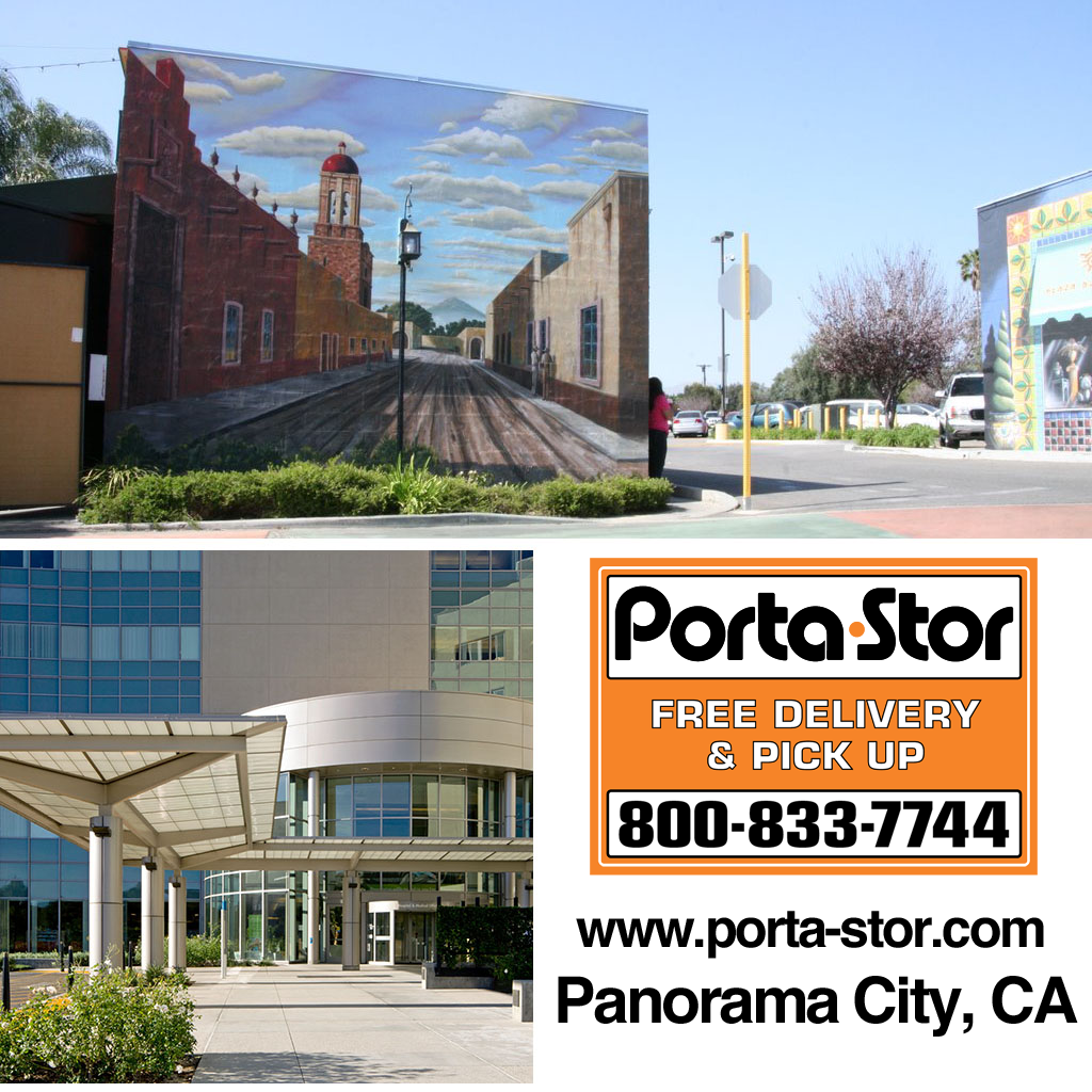 rent portable storage containers in panorama city Los Angeles