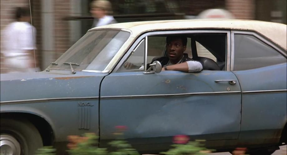 Beverly Hills Cop Axel Foley When Parking His Crappy Blue Chevy