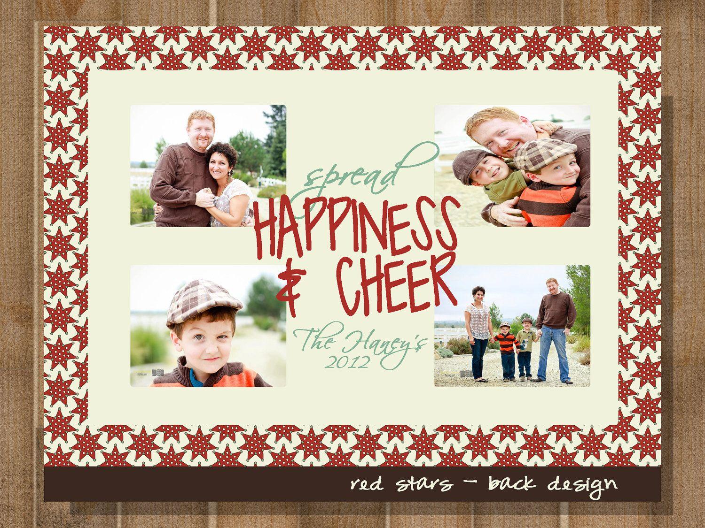 Printable Greeting Card Christmas Greeting Card Photo Card