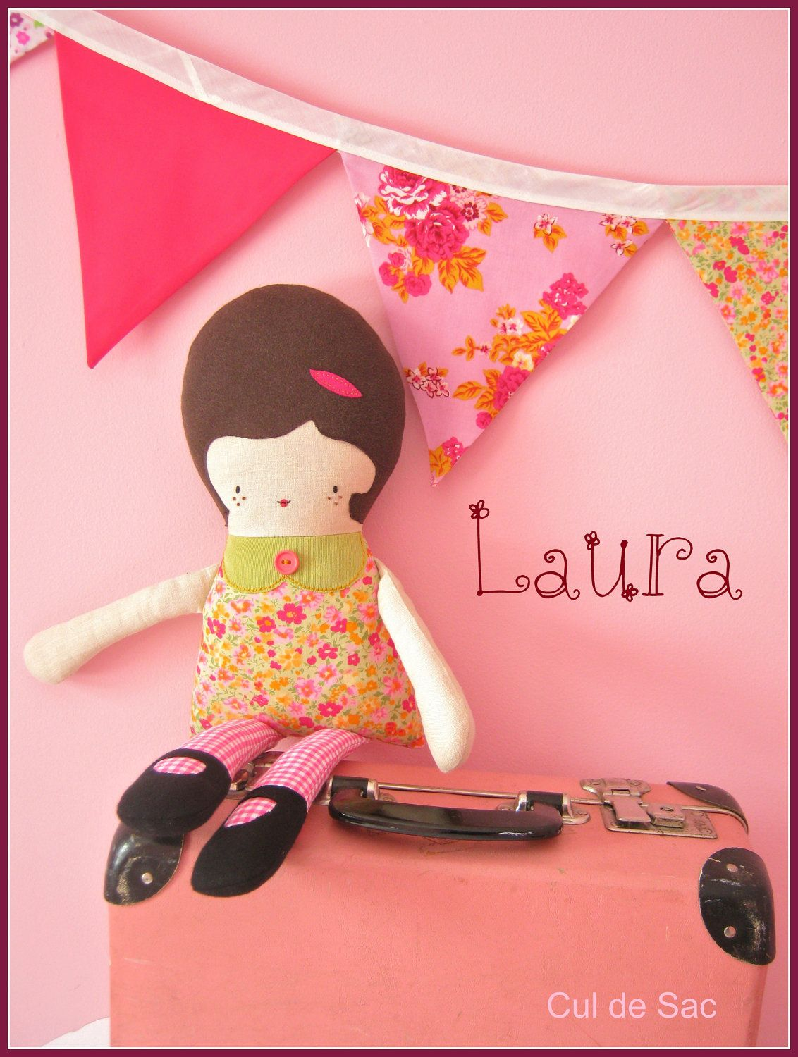 Retro Softie Doll--does anyone love this as much as I do?  So sweet....