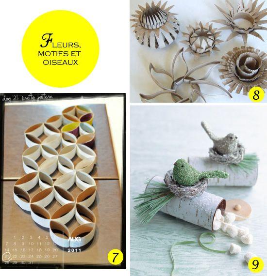Supérieur Quoi Faire Avec Rouleau Papier Toilette #14: DIY Avec Des Rouleaux De Papier Toilette