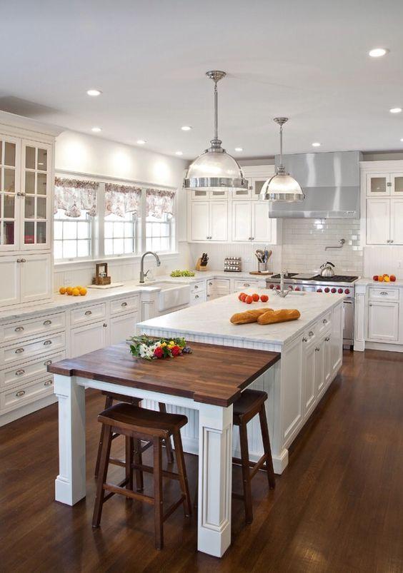 25 Kitchen Island Ideas With Seating Storage Kitchen Design