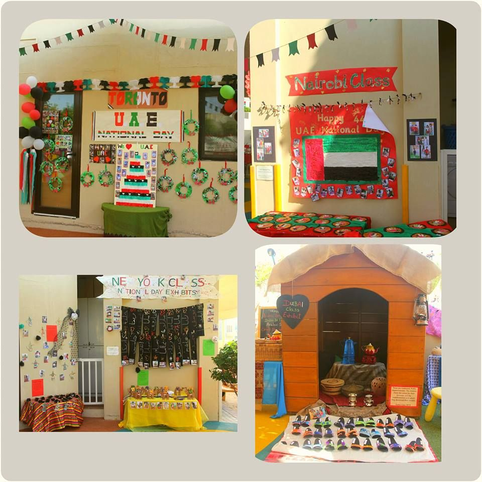 Uae National Day Handmade Arts And Crafts By The Little Children At The Nursery Uae National Day Sleepover Crafts National Day
