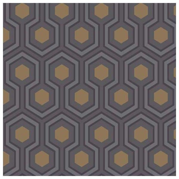 papier peint hicks hexagon contemporary and interiors. Black Bedroom Furniture Sets. Home Design Ideas