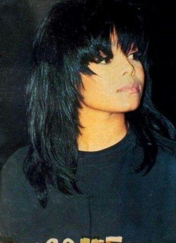 Pin By Damita Terry On Women Janet Jackson Hair Styles Beauty
