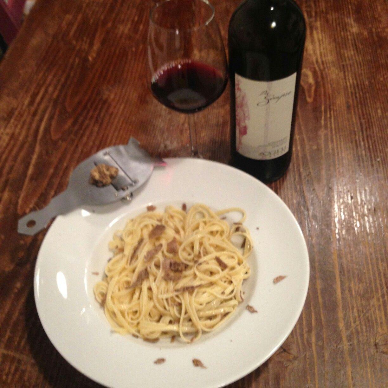 #immychef Tagliolini di pasta fresca con tartufo di gubbio