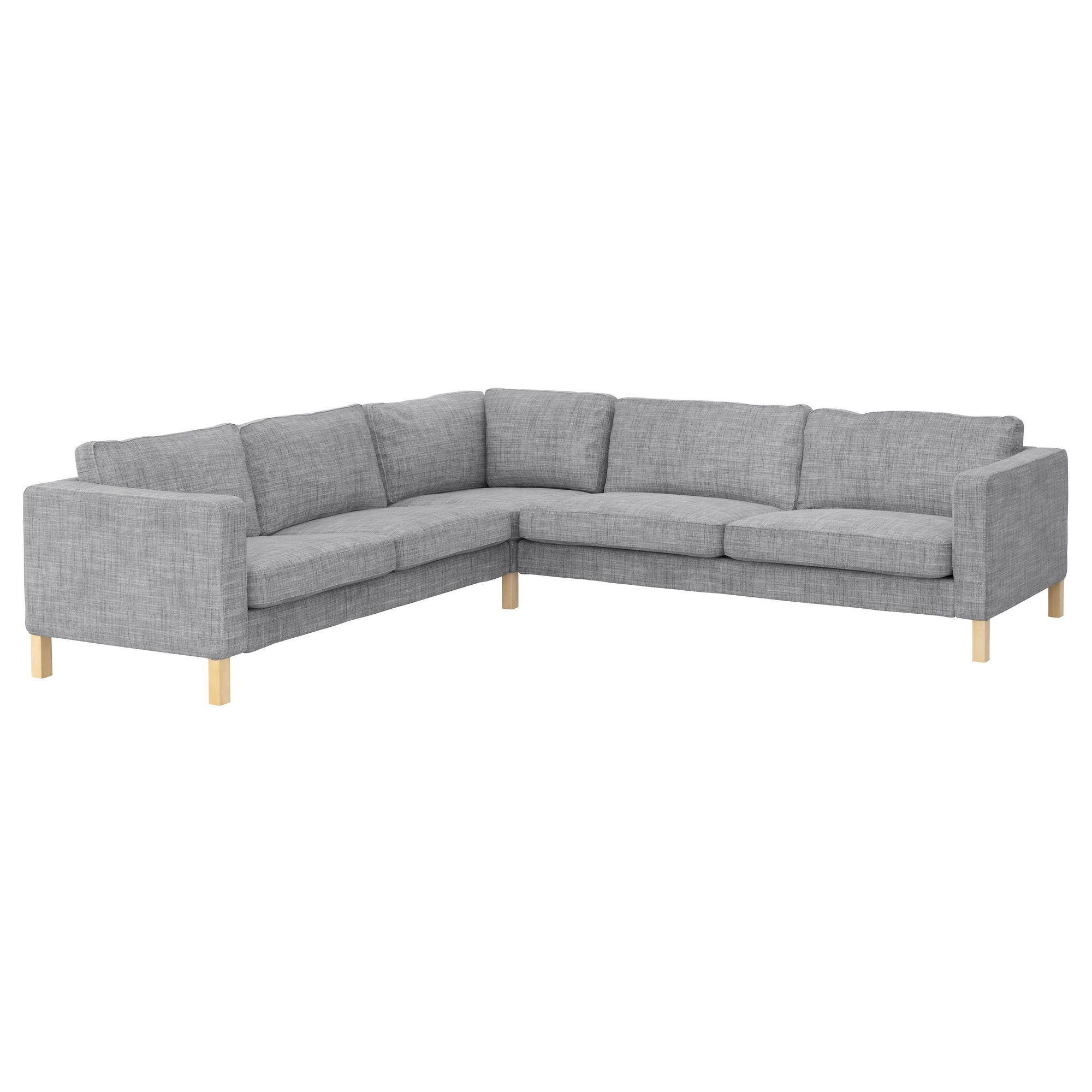 Couch Ikea Karlstad Corner Sofa 2 3 3 2 Isunda Gray Ikea For Our Home