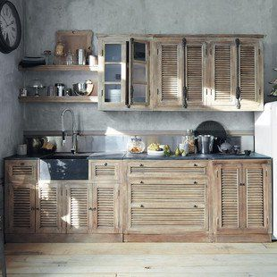 Awesome kitchen wall unit 120 Persiennes