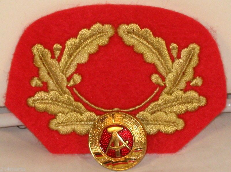 East German Germany GDR DDR NVA Military Generals Hat Cap