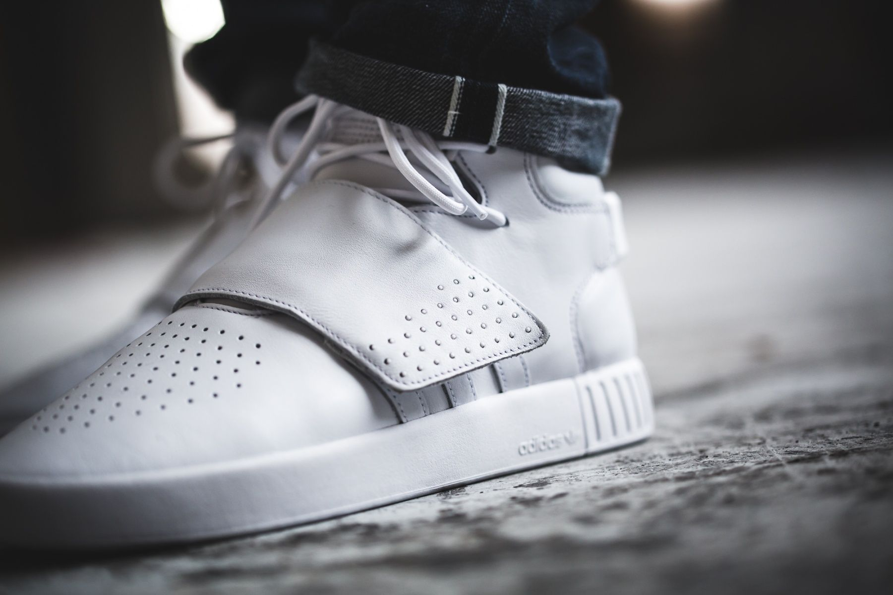 Adidas Tubular Invader Strap Street Leisure Athletic