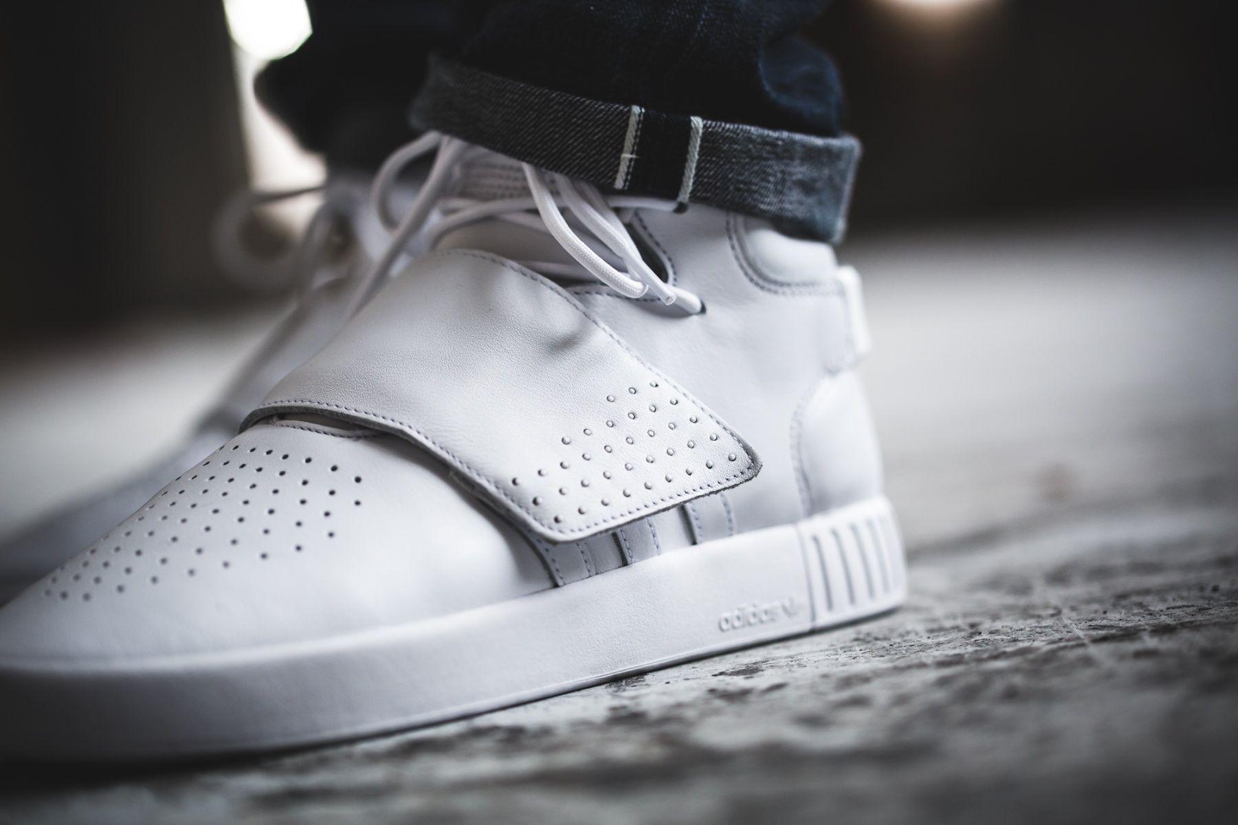 34e9bd46c2a5 adidas Tubular Invader Strap (weiß) - BW0872   43einhalb sneaker store