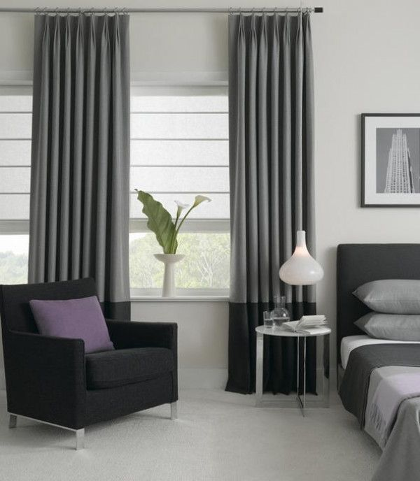 modern bedroom window treatments grey curtains are a must houseofbeyonce house of 16316