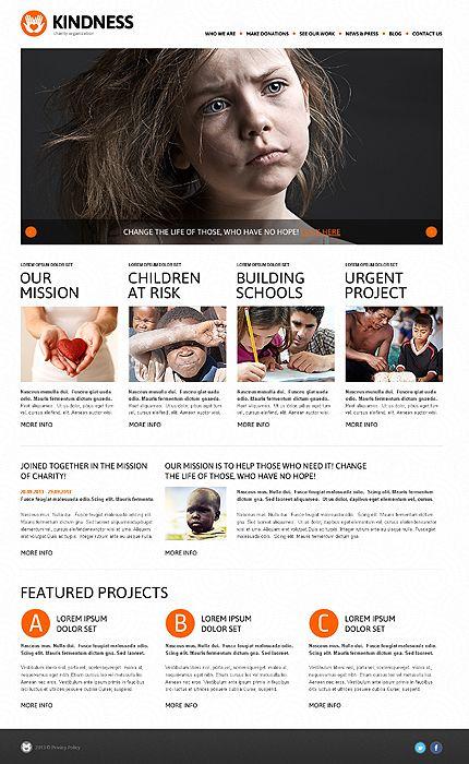 Charity Work – Charity Foundation WordPress Design | Blogging ...