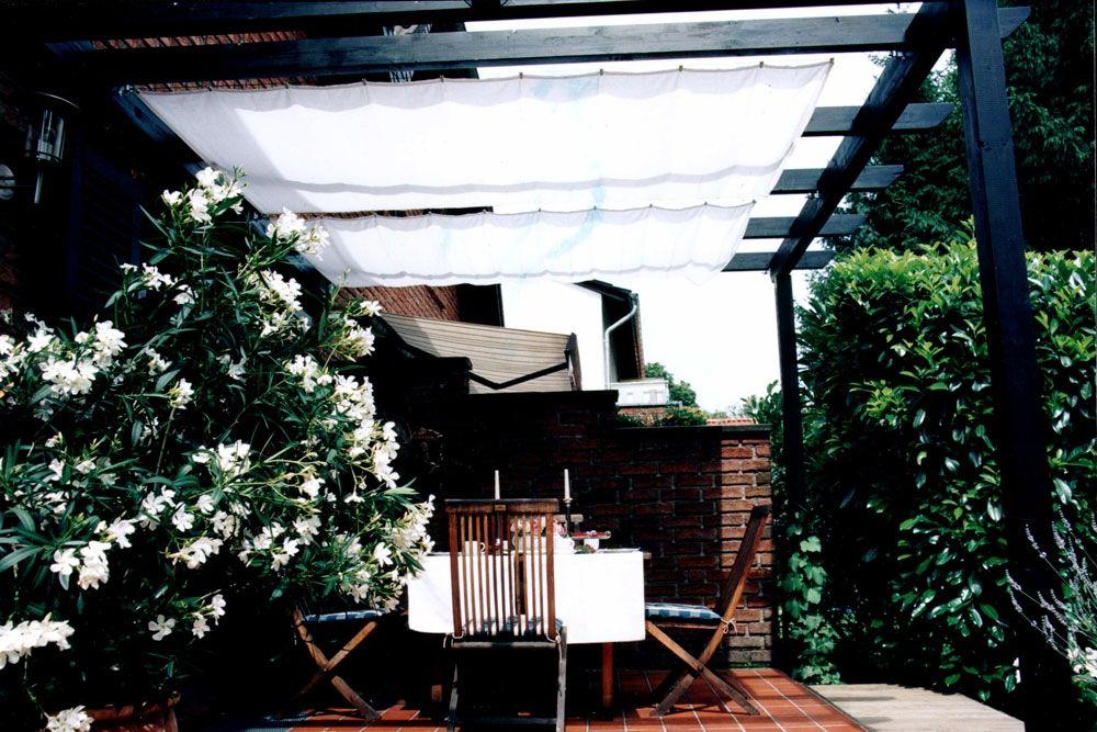 sonnensegel pergola uni hell elfenbein sonnensegel. Black Bedroom Furniture Sets. Home Design Ideas
