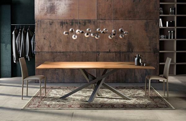 Table de salle à manger moderne  un point focal de la pièce - salle a manger design moderne