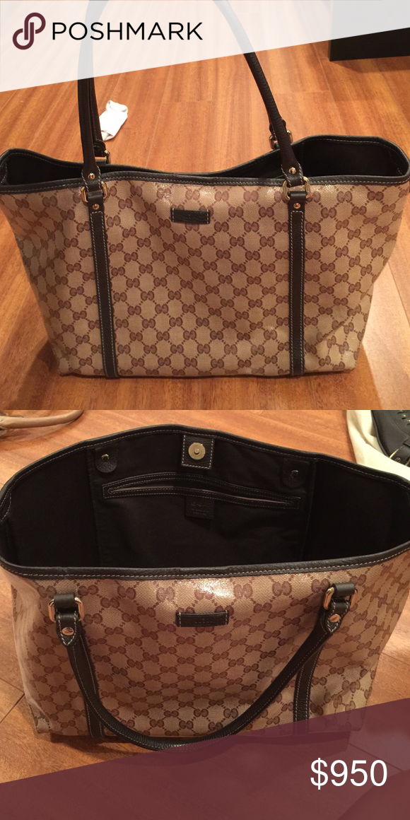 165d5bbbd48f Authentic Gucci tote bag Authentic Gucci tote bag Gucci Bags Totes ...