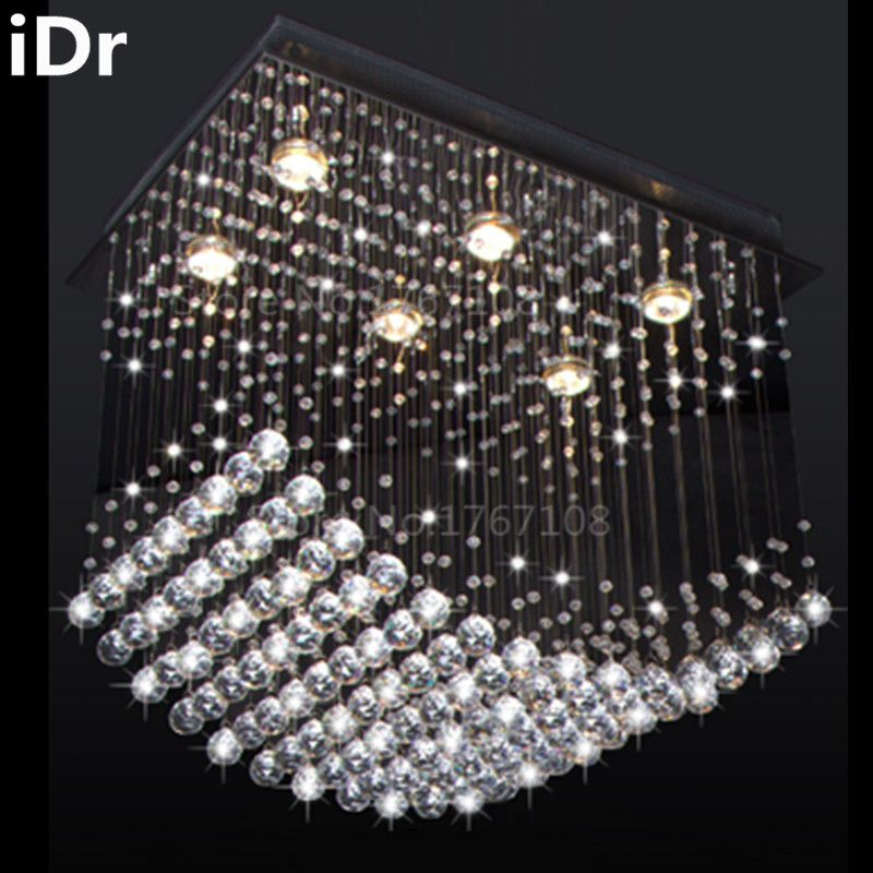 Contemporary Lamp Restaurant Lights Bedroom Crystal Hall Chandelier High Quality Free Delivery