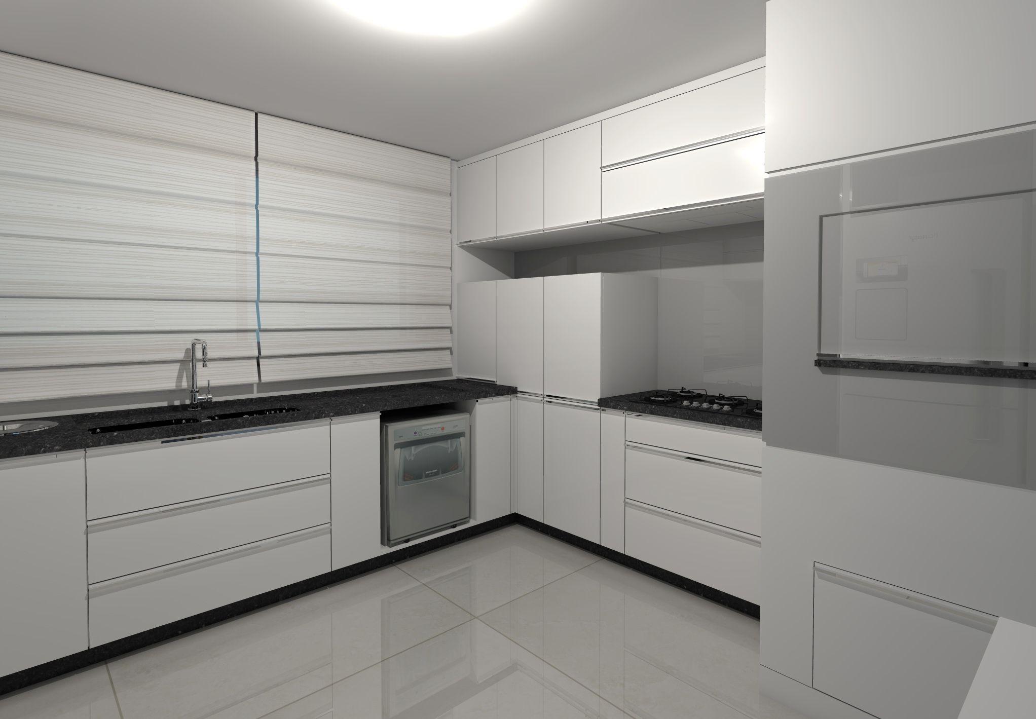 Projeto De Cozinha Desenvolvido Pela Arquiteta Caroline Arsego