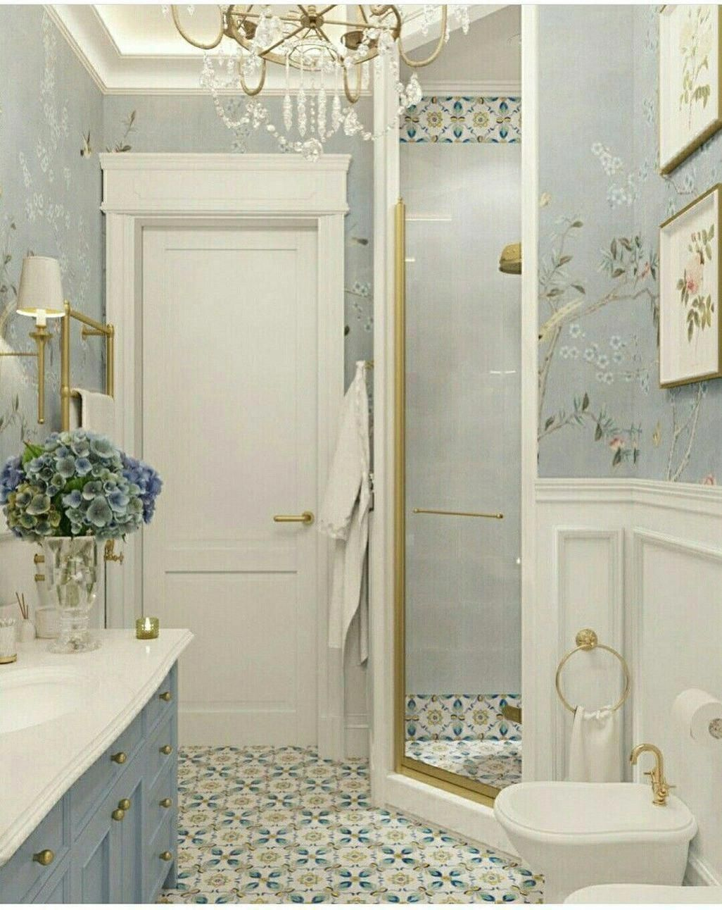 Bathroom Accents Accessories Navy Blue And Gold Bathroom Accessories Teal Green Bathroom Acces Classic Bathroom Classic Bathroom Design Beautiful Bathrooms