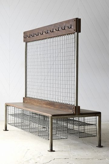 locker room school bench great if you family is the size of a soccer