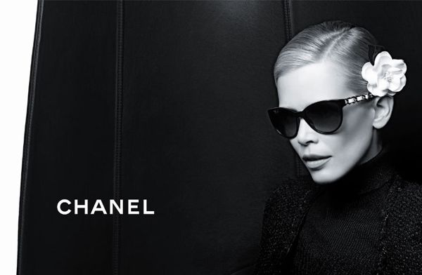 821fb73e214 The Chanel Prestige Eyewear Ads Star Claudia Schiffer
