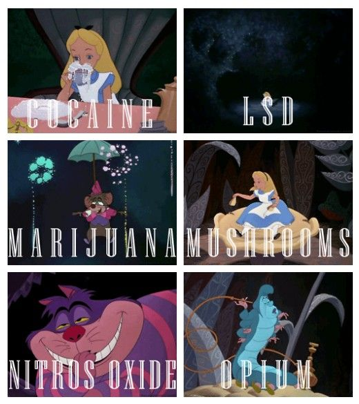 disney characters on drugs :P | disney | Pinterest ...
