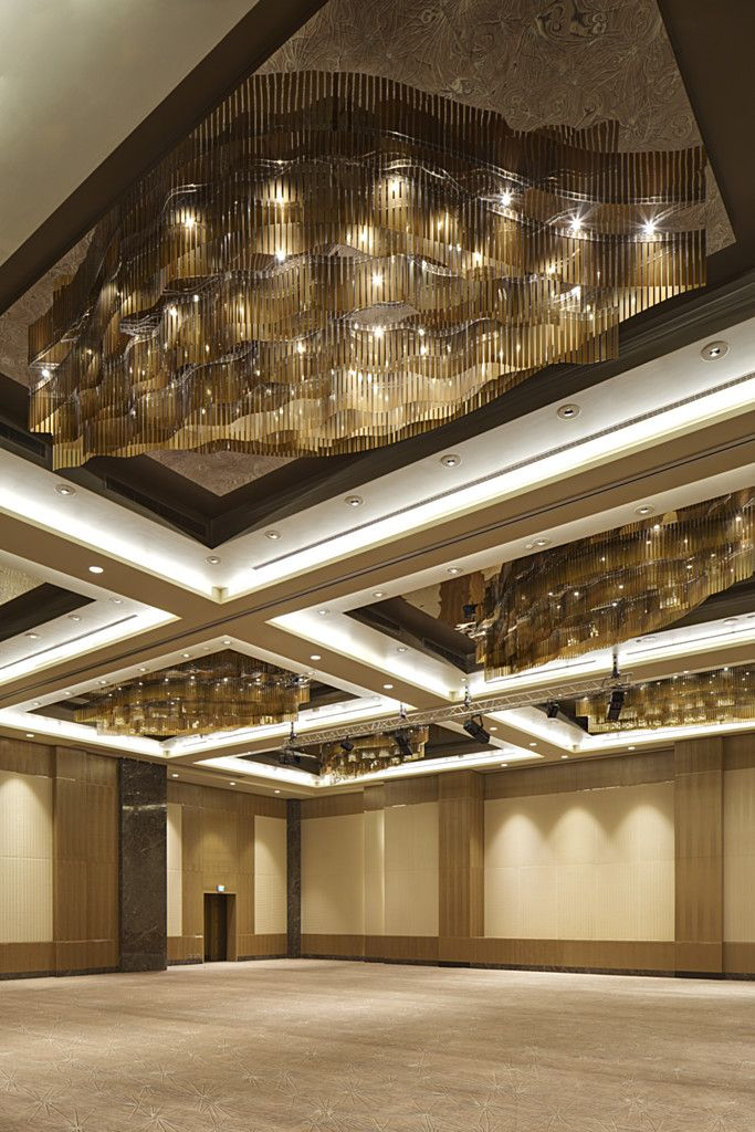 Commissioned For A Private Residence Golden Summer S Design Elements Are Composed Of Yellow Orange And Brown Tint Fairmont Baku Modern Hotel Ballroom Design