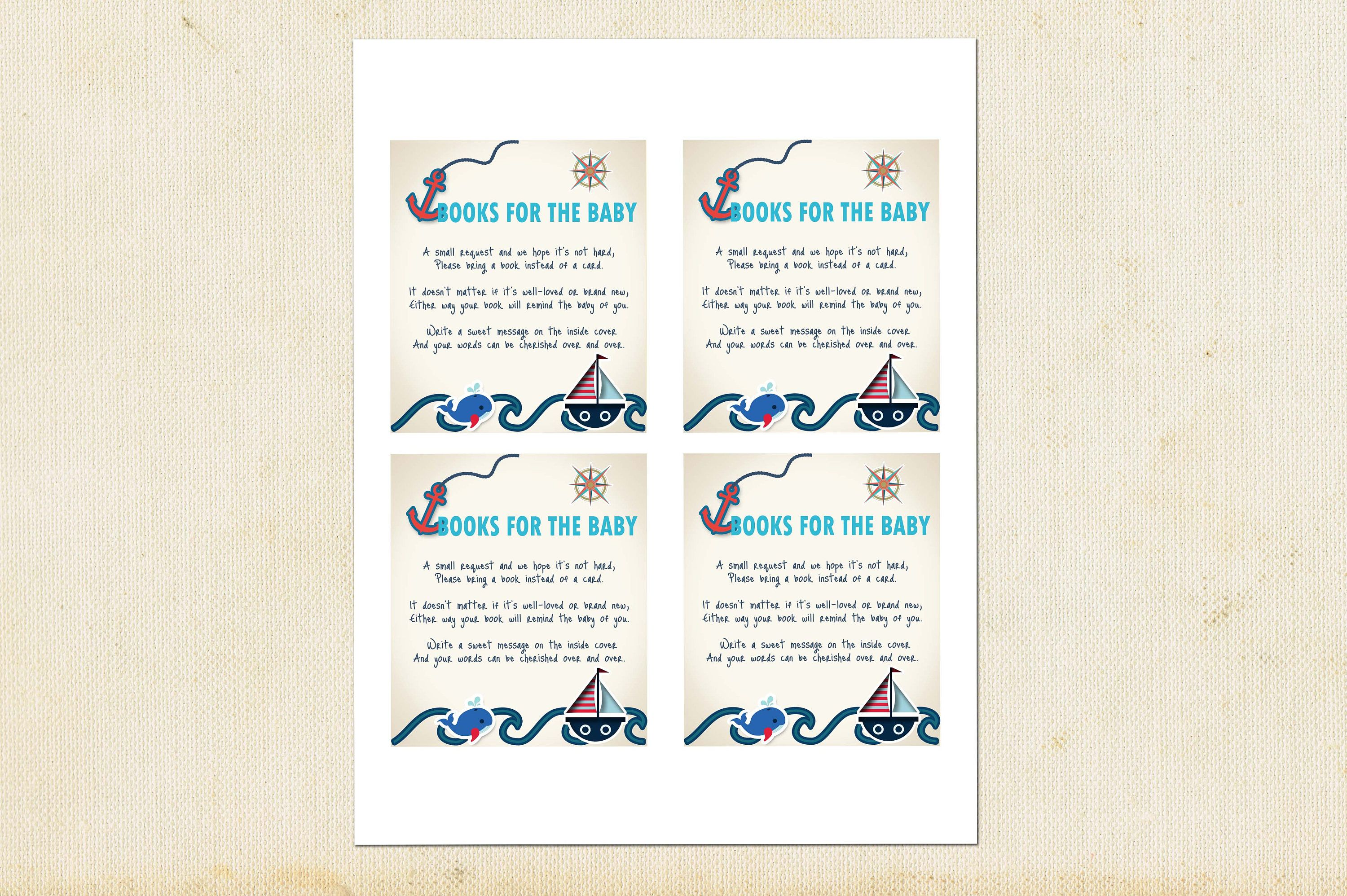 Nautical Baby Shower Invitations Ahoy Its A Boy Baby Shower Baby