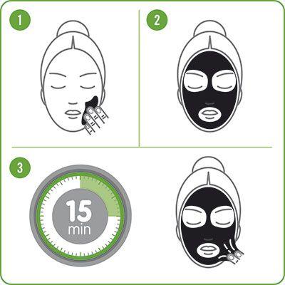 Nueva línea de cosmética facial Black Bamboo Carbon Charcoal