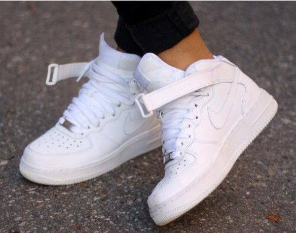 Shoes: baskets white basket nike nike sneakers white | White