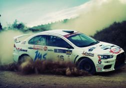 cars dust rally dirt vehicles depth of field racing Mitsubishi Lancer Evolution X wrc drifting rally cars offroad racing cars wallpaper