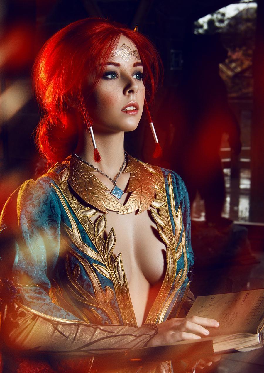Triss merigold cosplay disharmonica