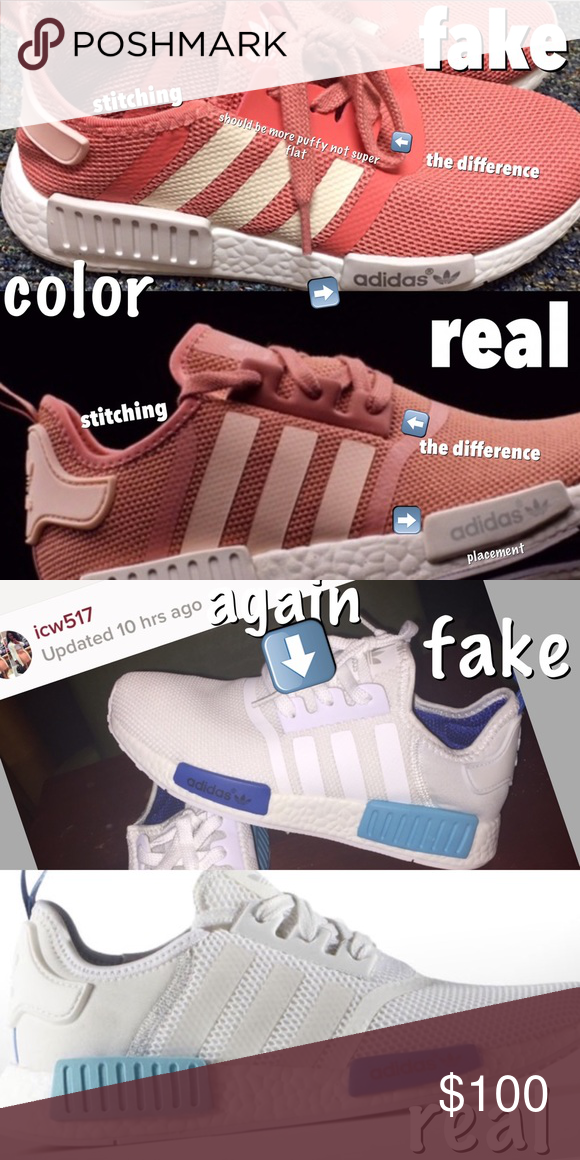 don't buy fake nmds people are purchasing adidas nmds especially on the app